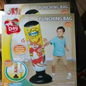 2 Kids punching bag